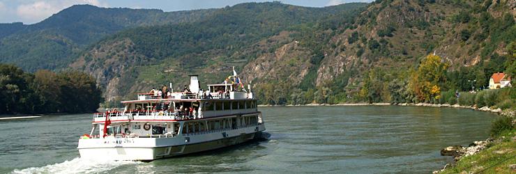 Schifffahrt durch die Wachau